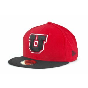 Utah Utes New Era NCAA 2 Tone 59FIFTY Cap by New Era