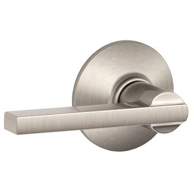 Schlage F10VLAT619 Latitude Style Passage Lever, Satin Nickel (Exterior Door Knob Lever compare prices)