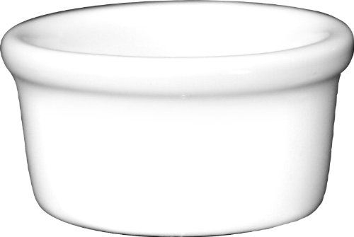 ITI-RAM-15-EW European White Ramekin, 1-1/2-Ounce, 36-Piece, White