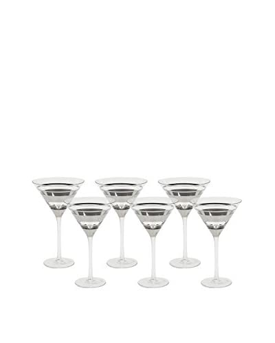 Vanderpump Set of 6 Chelsea Martini Glasses