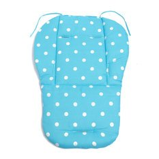 Cotton Baby Infant Thick Pushchair Mat Cover Stroller Buggy Pram Seat Cushion (Blue)