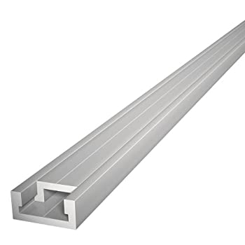 Buying 32' ALUMINUM MITER T-TRACK WITH MITER T- BAR by Peachtree Woodworking - PW1035