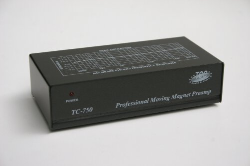 TCC TC-750 BLACK Audiophile Phono Preamp, Pre-amp (Preamplifier)