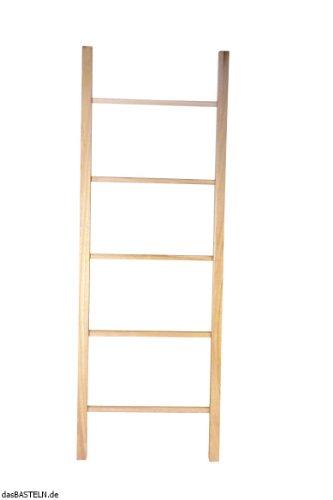 RAYHER-Holzleiter-mit-5-Sprossen-80x28-cm