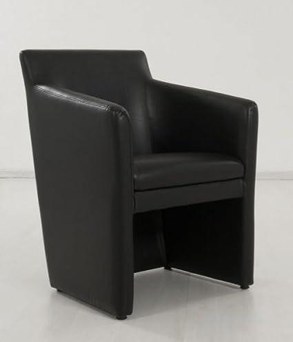 ROLLER Design-Sessel Omega schwarz Sessel Clubsessel