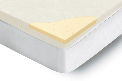 Homedics HMT-3Q Luxurious Comfort 3&#8243; Mattress Topper with 3&#8243; Premium Memory Foam, CoolCore Ventilation and Zip-Off Washable Top, Queen (60&#8243; x 80&#8243; x 3&#8243;)