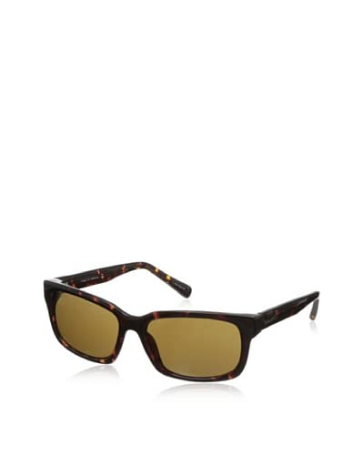 Cole Haan Men's Rectangle Sunglasses, Tortoise