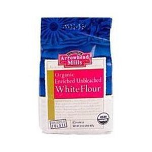 Arrowhead Mills Unbleached White Flour Organic, 32 Ounce Bags (Pack of 6) (Organic White Bread Flour compare prices)