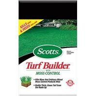 SCOTTS TURF BUILDER WITH MOSS CONTROL, Size: 5M (Catalog Category: Lawn & Garden: Fertilizer:FERTILIZER)
