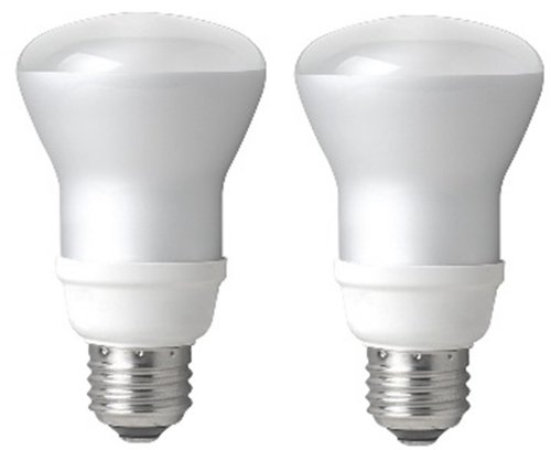 TCP 7R20142 14W R20 Reflector Compact Fluorescent Bulb, Soft White, 2-Pack