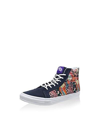 Vans Zapatillas abotinadas Ua Sk8-Hi Azul Marino / Multicolor