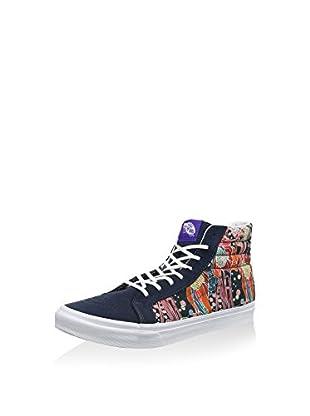 Vans Zapatillas abotinadas Ua Sk8-Hi (Azul Marino / Multicolor)