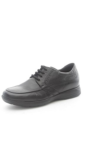 Lion 8457 Sneakers Uomo Pelle Nero Nero 43