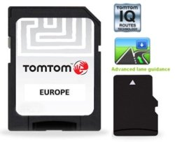 tomtom carte de l 39 europe centrale et occidentale iqr carte microsd import royaume uni. Black Bedroom Furniture Sets. Home Design Ideas