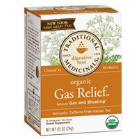 Traditional Medicinals Teas Organic Gas Relief