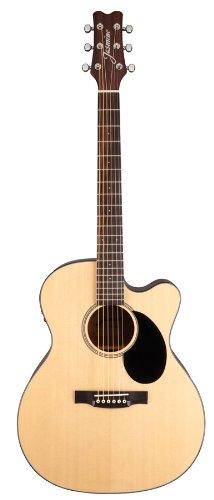 Jasmine Jo36Ce-Nat J-Series Acoustic-Electric Guitar, Natural