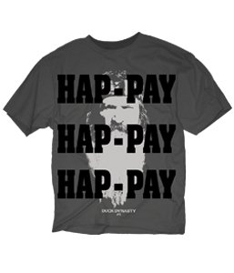 Duck Dynasty Shirt-- HAPPY HAPPY HAPPY SHIRT-- Duck Commander Shirt-- Officially Licensed Shirt!! (Xlarge, Black HAP-PAY FACE)