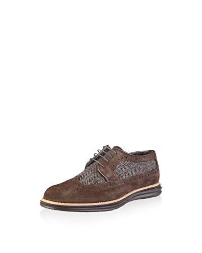 VERSACE 19.69 Zapatos de cordones Aurelien Azul Grisáceo