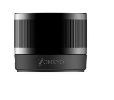 Portable Mini Wireless Bluetooth Speaker With Built In Speakerphone 8 Hour Rechargeable Battery, Ultra-Portable Lightweight Premium Audio Sound In Black, Zonkyo Z-Bsp7, Made Of High Quality Steel Compatible With Bluetooth 3.0 And 4.0
