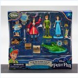 Walt Disneys Peter Pan Collectible Figure Set [Toy] (Peter Pan Figurine Set compare prices)