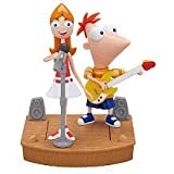 Disney Phineas and Ferb Mini Figure 2Pack Phineas Candace Rockin Stage