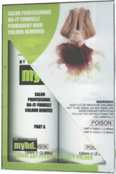 myhd. My Haidresser Salon Professional Do-It-Yourself Permanent Hair Colour Remover