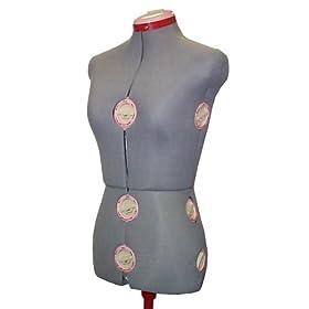 Singer Grey Mannequin Dressform