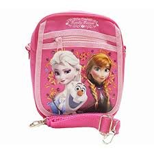 2014 Disney Frozen Shoulder Bag/wallet Set (Hot Pink) from Mirage