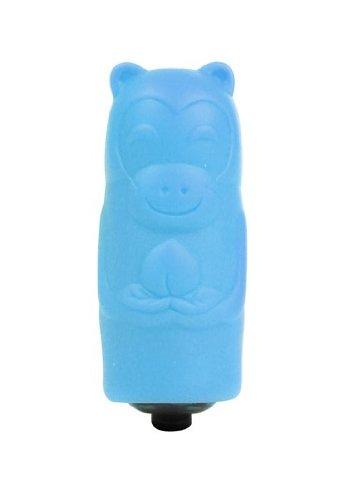 Shots Toys Bullet Blue Sleeve Monkey King 1-Speed Vibrator