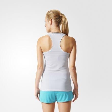 T-shirt da donna adidas Clima chill Canotta, bianco, XS, AJ4839