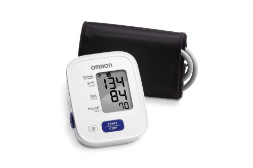 Omron 3 Series Upper Arm Blood Pressure Monitor with Cuff that fits Standard and Large Arms (BP710N) (Digital Blood Pressure Cuff compare prices)
