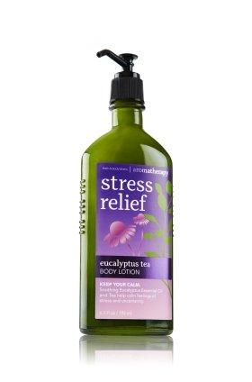 バス &ワークス アロマセラピー ストレスリリーフ ユーカリプタス ティーローション Aromatherapy Stress Relief Eucalyptus Tea Body Lotion