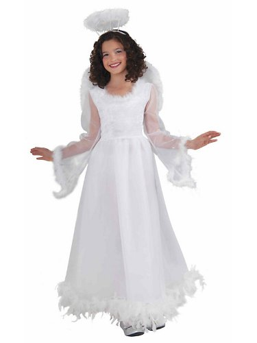 Fluttery Angel Costume - Child Medium