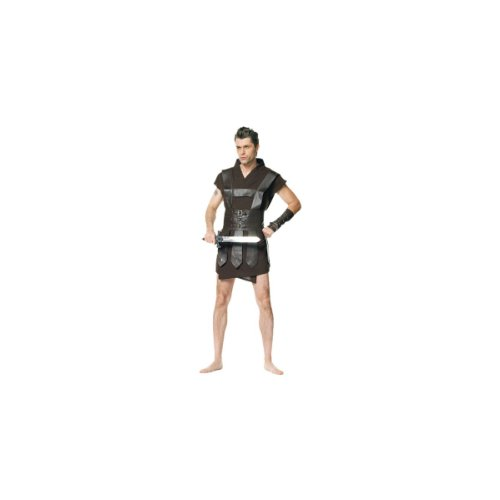 Warrior Men's Costume Adult Halloween Outfit - Size Men's XL, Waist 36-38