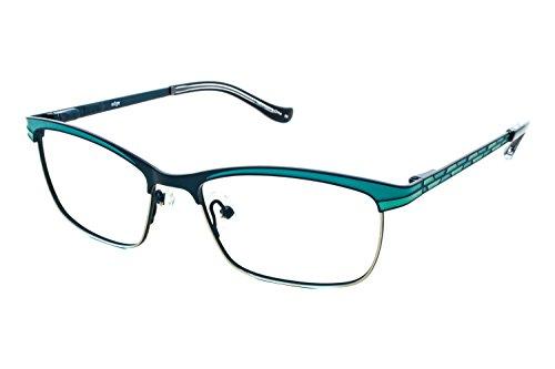 kensie-eyeglasses-edge-teal-51mm