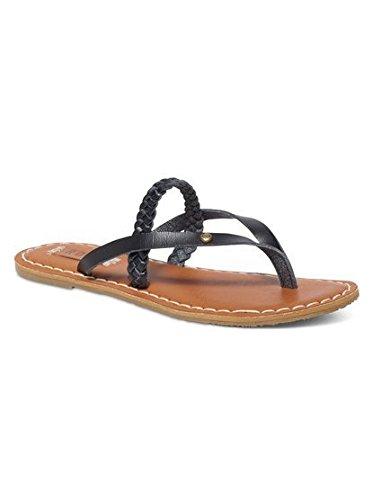 Roxy Women's Lanae Flat Sandal, Tan, 8 M US