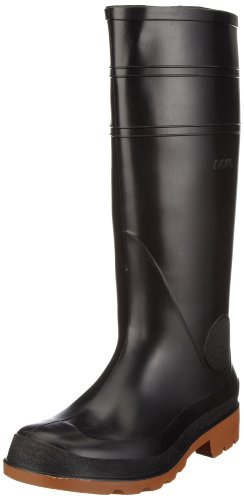 Nora Como 72016, Stivali da pioggia unisex adulto, Nero (Schwarz (Schwarz 11)), 43