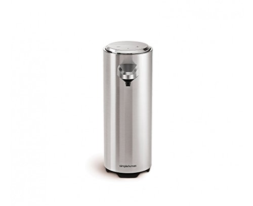 simplehuman 8 oz. Sensor Pump with Soap Sample, Brushed Nickel (Sample Soap Containers compare prices)
