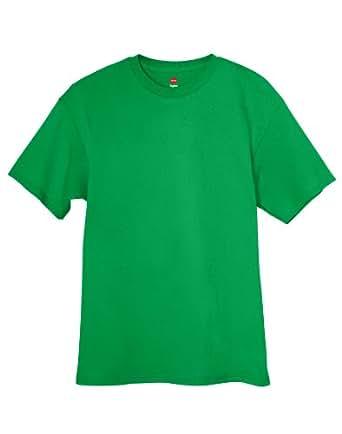 Amazon.com: Hanes Men's TAGLESS 6.1 Short Sleeve Tee, XL-Shamrock