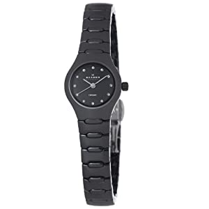 Skagen Women's 816XSBXC1 Ceramic Black Ceramic Watch