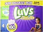 Luvs With Ultra Leakguards Diapers, S...