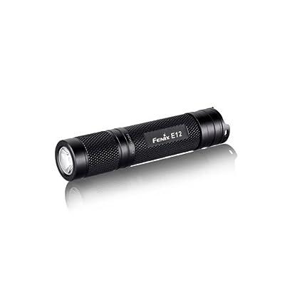 Fenix Taschenlampe, black, One Size, E12R4BK-B