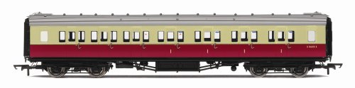 Hornby R4345A BR Maunsell Corridor Composite (High Window) 00 Gauge Coach Rolling Stock