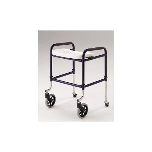 【星光医療器製作所】歩行車!100499 アルコーキューブC(トレー付き) 4輪固定型歩行 [ヘルスケア&ケア用品]