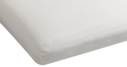 Beddinghouse Jersey mit Lycra Split-Topper-Spannbettlaken / 180/200*200/220 cm / OffWeiß günstig online kaufen
