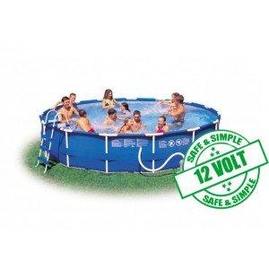 Avis intex piscines hors sol intex pisicne m tal frame for Piscine intex 4 57 x 0 91