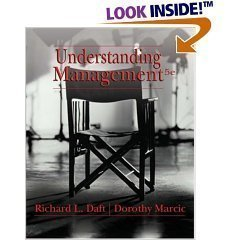 Daft and Marcic 'Understanding Management' - 5th (Fifth) Edition PDF