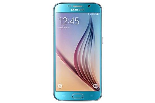 Samsung G920 Galaxy S6 Smartphone, 32 GB, Blu [Italia]