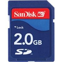 SanDisk 2 GB Class 2 SD Flash Memory Card SDSDB-2048-A11 by SanDisk