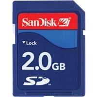 SanDisk 2 GB Class 2 SD Flash Memory Card SDSDB-2048-A11 by SanDisk